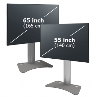 Panasonic TH-55EQ1E / TH-65EQ1E, LED LCD 4K monitor + SmartMetals stand KIT
